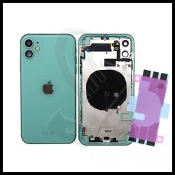 Scocca posteriore con flex per Apple iPhone 11 verde