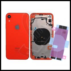 Scocca posteriore con flex per Apple iPhone XR corallo