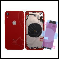 Scocca posteriore con flex per Apple iPhone XR rosso