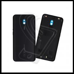 SCOCCA POSTERIORE IN PLASTICA Per Xiaomi Redmi 8A BACK COVER COPRI BATTERIA Colore Nero (Midnight Black)