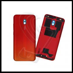 SCOCCA POSTERIORE IN PLASTICA Per Xiaomi Redmi 8A BACK COVER COPRI BATTERIA Colore Rosso (Sunset Red)