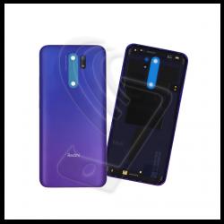 SCOCCA POSTERIORE IN PLASTICA Per Xiaomi Redmi 9 BACK COVER COPRI BATTERIA Colore Viola (Sunset Purple)