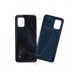 VETRO POSTERIORE SCOCCA Per Xiaomi MI 10 Lite 5G BACK COVER COPRI BATTERIA Colore Nero (Cosmic Grey)