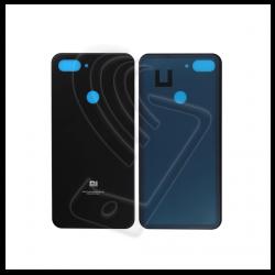 Back cover per Xiaomi Mi 8 Lite vetro posteriore di colore nero