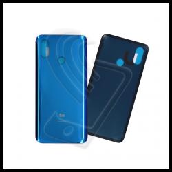 VETRO POSTERIORE SCOCCA Per Xiaomi MI 8 M1803E1A BACK COVER COPRI BATTERIA Colore Blu (Blue)