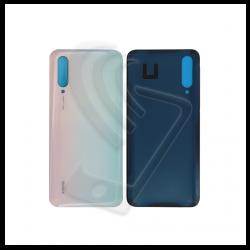 VETRO POSTERIORE SCOCCA Per Xiaomi MI 9 Lite M1904F3BG Mi CC9 BACK COVER Colore Bianco (Pearl White)