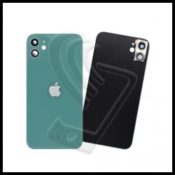 Vetro posteriore verde back cover con lente per Apple iPhone 11