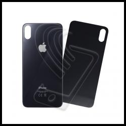 VETRO POSTERIORE SCOCCA iPhone XS Max copri batteria Colore Grigio Siderale / Nero